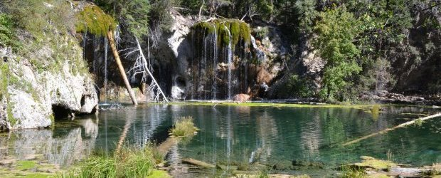Hanging Lakes Glenwood Springs Colorado Womo Abenteuer