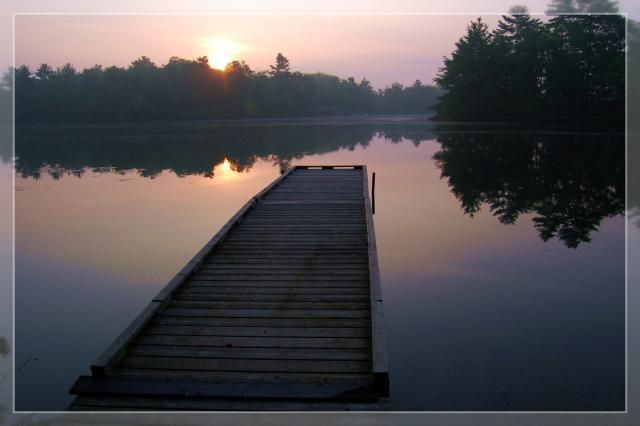 Six Mile Lake Provincial Park, Campground, Port Severn ...