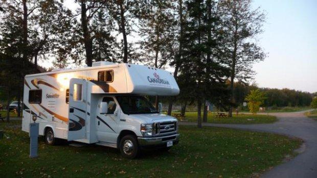 camping au jardin de mon p re campground la baie qu bec