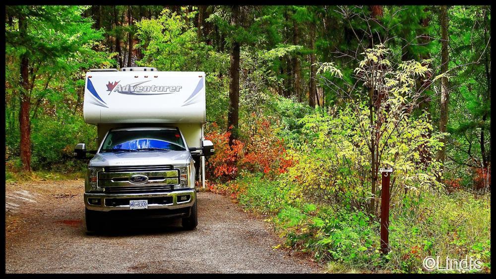 Cascade Campground Plains Montana Womo Abenteuer