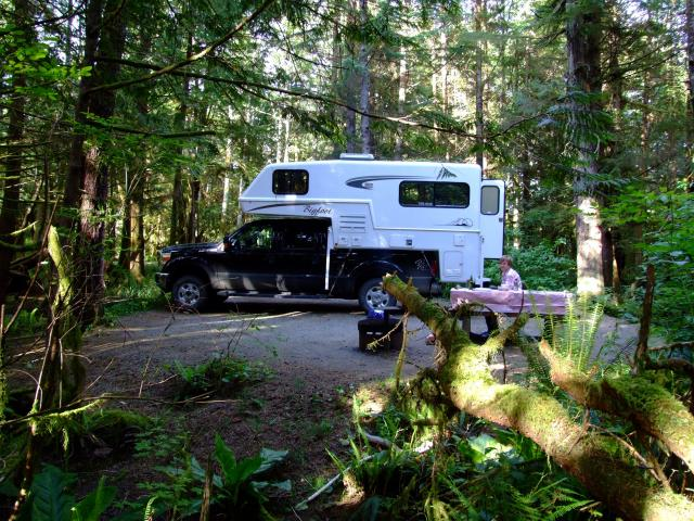 Green Point Campground Vancouver Island