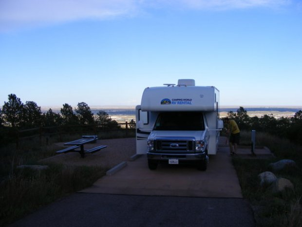 Cheyenne Mountain State Park, Campground, Colorado Springs