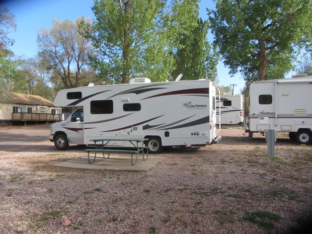 Campground Garden Of The Gods Rv Resort Campground Colorado Springs Colorado Womo Abenteuer