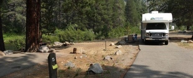 Granite Flat Campground Truckee California Womo Abenteuer