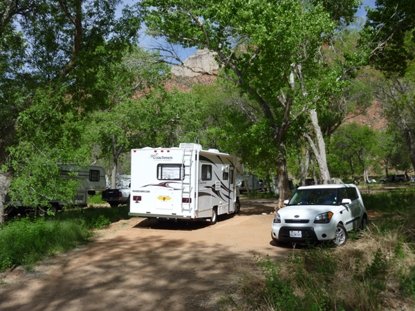 zion planyourvisit campgrounds