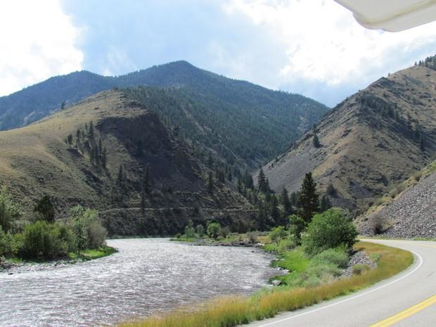 Salmon River Scenic Byway, ID-SR-75, Idaho | Womo-Abenteuer