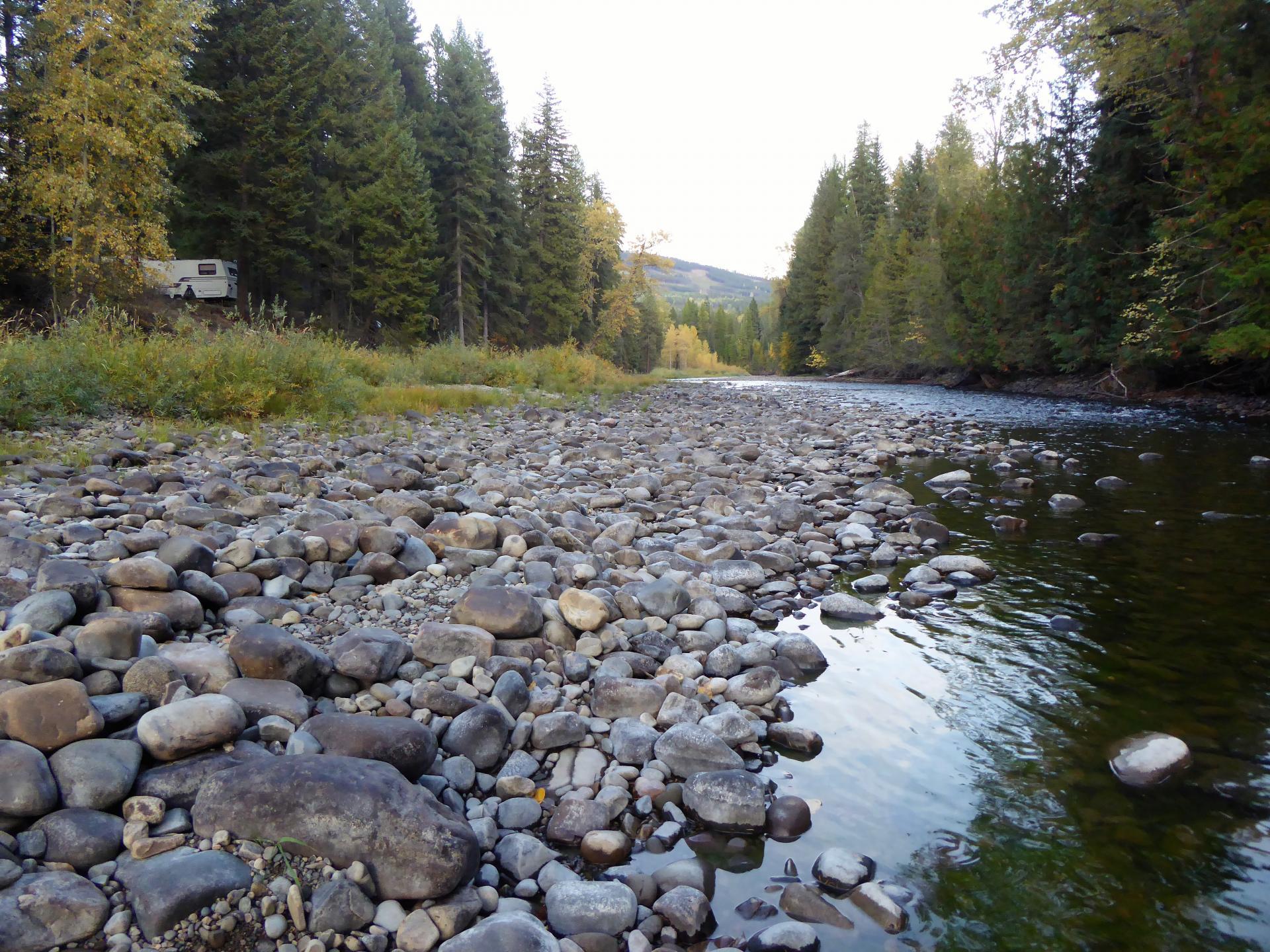 Grouse Mountain Campground, Yahk, British Columbia, Canada ...