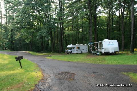 Chenango Valley State Park, Campground, Binghamton, New ...