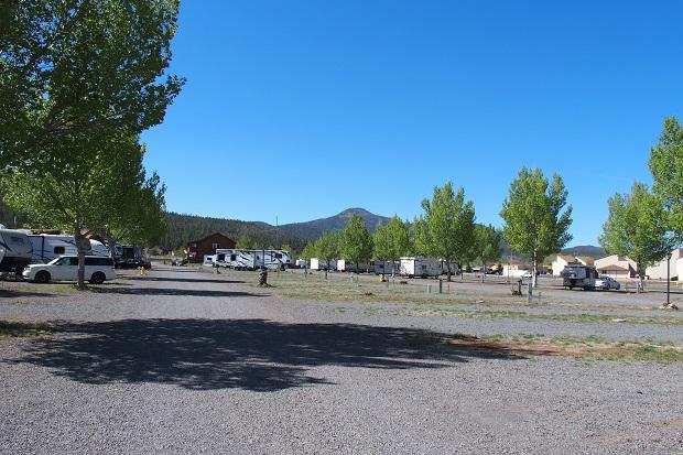 Railside Rv Ranch Campground Williams Arizona Womo