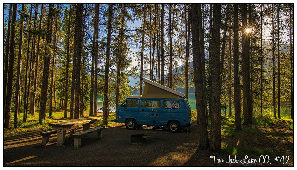 Two Jack Lakeside Campground, Banff National Park, Banff ...