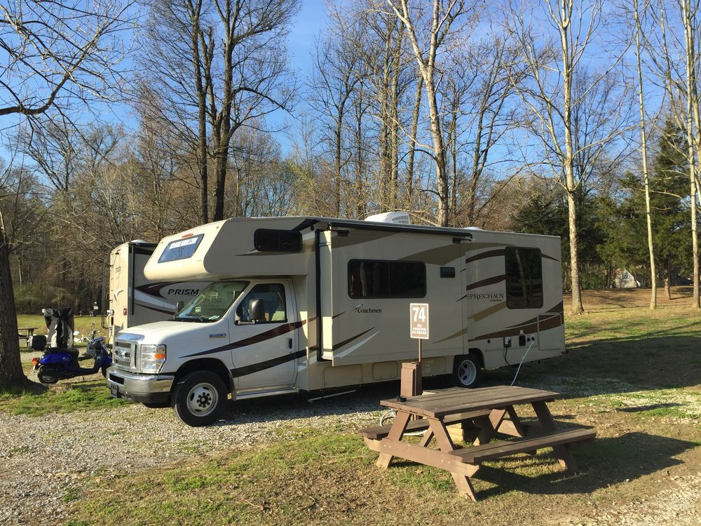 Graceland RV Park & Campground, Memphis, Tennessee | Womo-Abenteuer