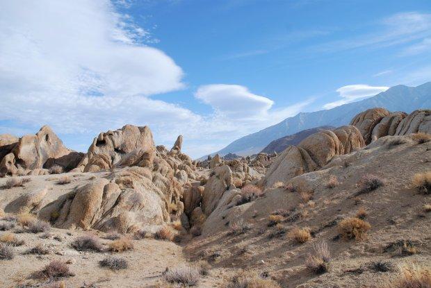 13 - vom Death Valley nach Lone Pine am Diaz Lake   Womo ...