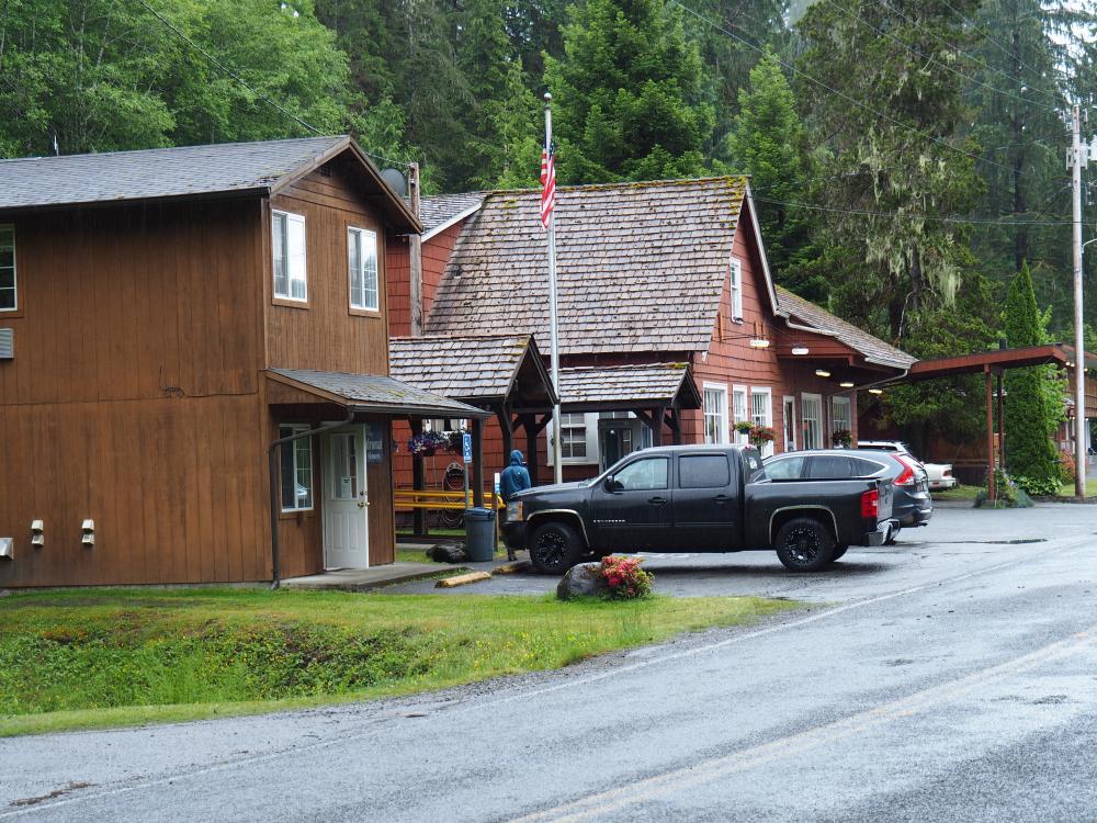 Rain Forest Resort und RV Park Campground, Lake Quinault ...